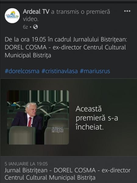 """""""AM LĂSAT LA PALATUL CULTURII MARE PARTE DIN INIMA MEA..."""""""