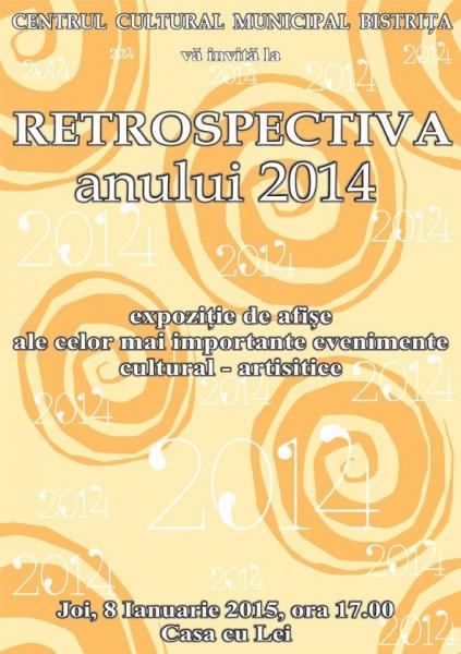 RETROSPECTIVA ANULUI 2014 !