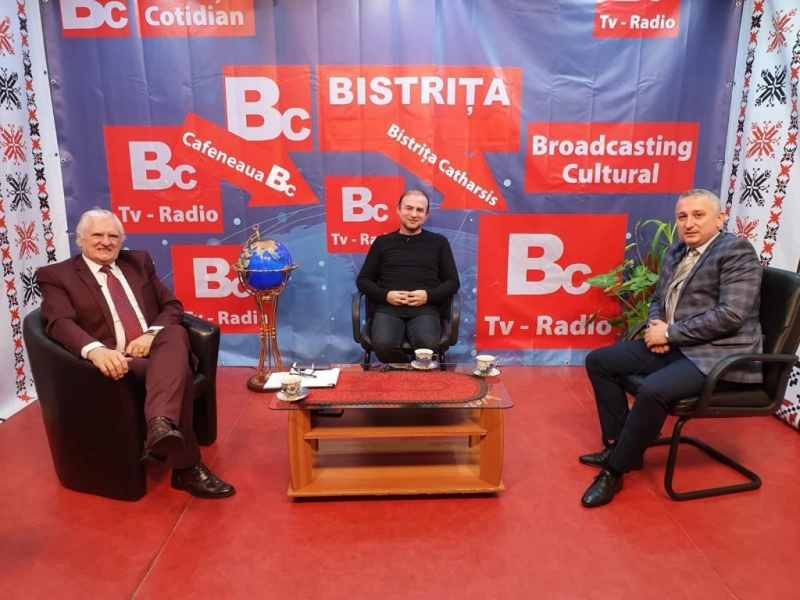 CAFENEAUA BC - O NOUĂ EMISIUNE CU DR. CRISTIAN GHEORGHE MAXIM