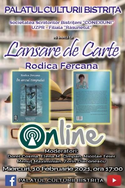 LANSARE DE CARTE - RODICA FERCANA!