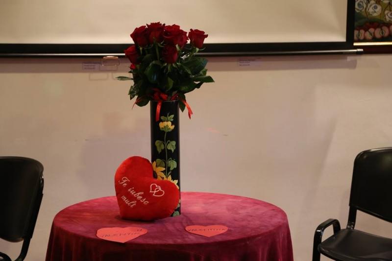 DISTRACȚIE, CONCURSURI, PREMII, EXPOZIȚIE, WORKSHOP ȘI FILM ROMANTIC DE VALENTINE'SDAY LA CASA CU LEI