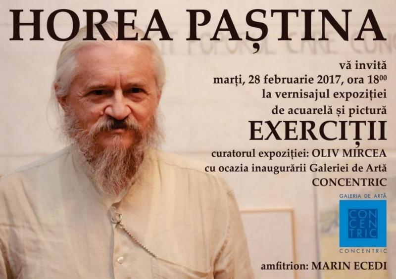 O NOUĂ GALERIE DE ARTĂ LA BISTRIȚA, INAUGURATĂ CU EXPOZIȚIA LUI HORIA PAȘTINĂ