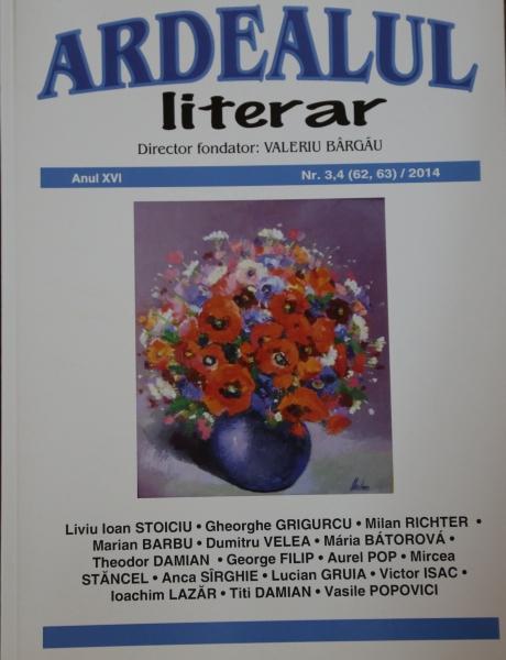 """SCRIITORI BISTRIȚENI DE LA """"CONEXIUNI"""", PUBLICAȚI ÎN ARDEALUL LITERAR NR. 3-4/2014"""