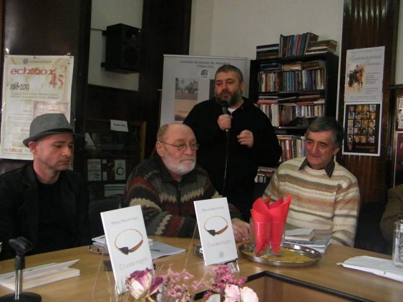 MENUȚ MAXIMINIAN, EVENIMENT DE RĂSUNET LA UNIUNEA SCRIITORILOR