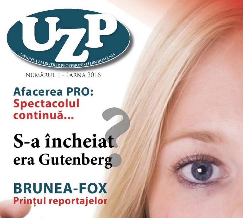 """PUBLICAȚIA """"UZP"""" - NR. 1 ȘI 2 / 2016"""
