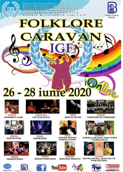 CARAVANA FOLCLORICĂ 2020 - ONLINE !