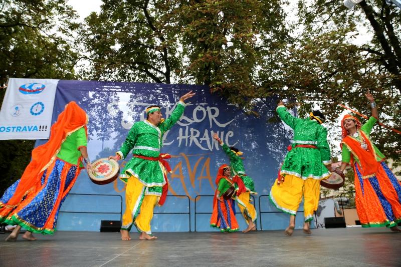"""""""SPANDAN"""" INDIA - LA FESTIVALUL INTERNAȚIONAL DE FOLCLOR """"NUNTA ZAMFIREI"""" 2017"""