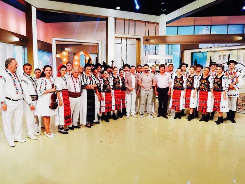CUNUNA DE PE SOMEȘ A STRĂLUCIT LA PRO TV. MĂRUȚĂ: URMEAZĂ CAMPIONATUL MONDIAL AL ANSAMBLURILOR LA BISTRIȚA!