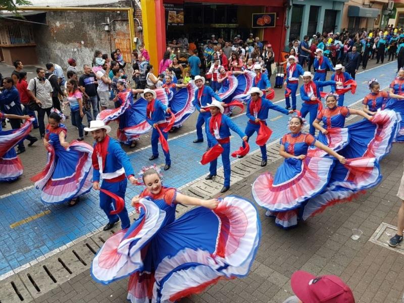 """COSTA RICA -  LA FESTIVALUL INTERNAȚIONAL DE FOLCLOR """"NUNTA ZAMFIREI"""" 2018 !"""