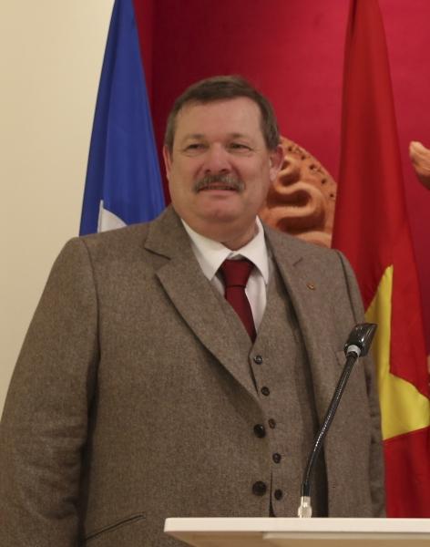 HAPPY BIRTHDAY, MR. NICOLAS CHARLETY - PRESIDENT ADJ. I.G.F. !