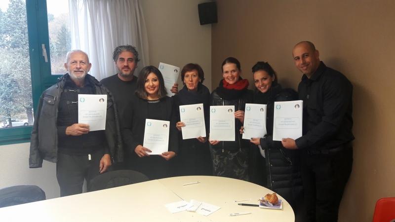 BISTRIȚA LA DESCHIDEREA ACADEMIEI INTERNAȚIONALE DE DANS – VOIRON, FRANȚA