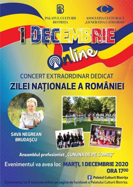 DE 1 DECEMBRIE SĂRBĂTORIM ROMÂNEȘTE ONLINE!